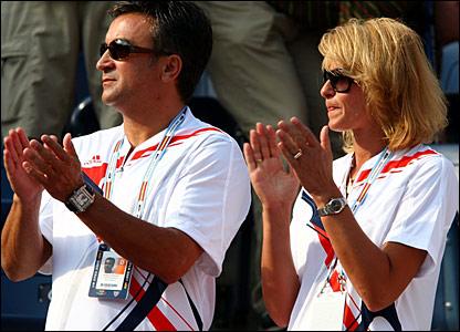 Srdjan and Dijana Djokovic