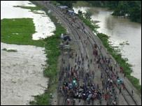 Assam floods (Pic: Subhamoy Bhattacharya)