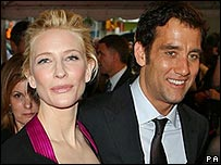 Cate Blanchett and Clive Owen