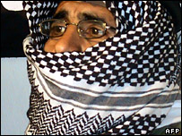 Sheikh Shaker al-Abssi at a news conference on 13 March 2007
