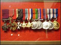 Sir Tasker's medals