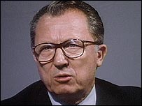 Jacques Delors, former president of the European Commission