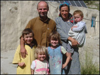 The Duncan family in Afghanistan