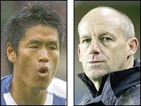 Seol Ki-Hyeon and Steve Coppell
