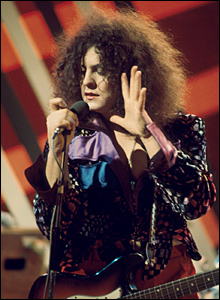 Marc Bolan appears on Top of the Pops