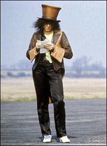 Marc Bolan, by photographer Keith Morris (courtesy of Redferns Music Picture Gallery)