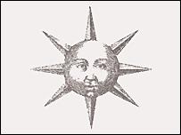 Robert Fludd's 17th Century drawing of the sun
