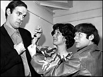 John Cleese, Jo Kendall and Bill Oddie star in I'm Sorry I'll Read That Again in 1968