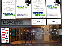 Lloyds TSB branch in Manchester