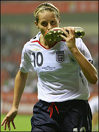 England's Kelly Smith