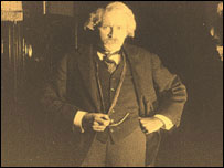Norman Page in The Life Story of David Lloyd George (picture: The National Library of Wales)