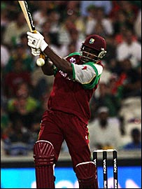 Christopher Henry Gayle in full flow