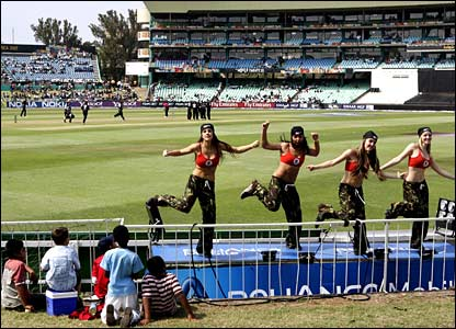 Dancers on the boundary as New Zealand take on Kenya