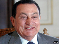 Hosni Mubarak (4 September 2007)