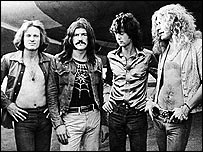 Led Zeppelin in the 1970s
