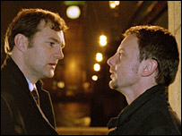 David Morrissey (l) and John Simm