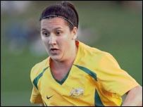 Australia's Lisa De Vanna