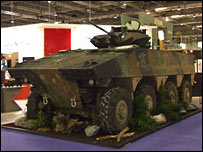 Nexter Armoured Fighting Vehicle
