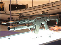 Beretta assault rifle