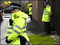 Alva arrest scene