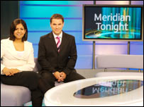 Sangeeta Bhabra and Ian Axton on Meridian Tonight