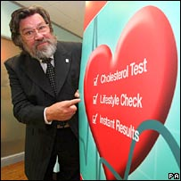 Ricky Tomlinson launches heart health campaign. Image: PA