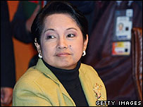 Philippine President Gloria Arroyo (file photo)
