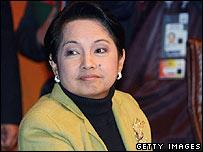 Philippine President Gloria Arroyo (file photo)