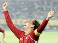 Ane Stangeland Horpestad celebrates her winner