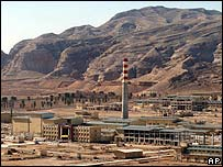 Natanz uranium enrichment plant (File pic)