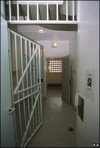 A police cell