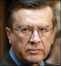 Russian Prime Minister-designate Viktor Zubkov - 9/12/2004