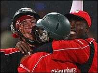 Taylor and Chigumbura were two of the heroes for Zimbabwe