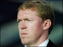 Republic of Ireland manager Steve Staunton