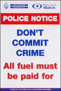Herts Police poster