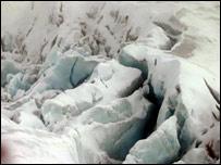 Ice landscape (BBC)