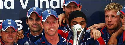 England win the one-day series