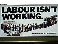 Tory 1979 election poster