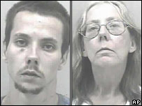 Bobby Brewster (left) and his mother Frankie are among the six accused