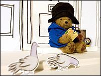 Paddington bear in Marmite advert
