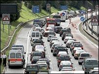 Heathrow traffic