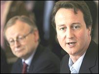 John Gummer and David Cameron