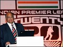 Indian board president Sharad Pawar