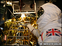 UK astronaut mock-up (Ron Whitfield)