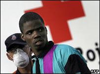 Inmigrantes africanos en Canarias