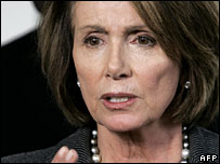 House Democratic leader Nancy Pelosi