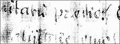 Manuscrito antiguo.