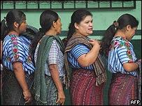 Indígenas guatemaltecas.