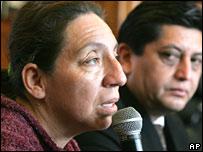 Judith Rivera, víctima de VIH