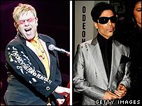 Elton John and Prince